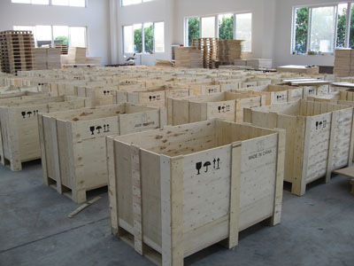 Plywood boxes made by Vietnam packing plywood