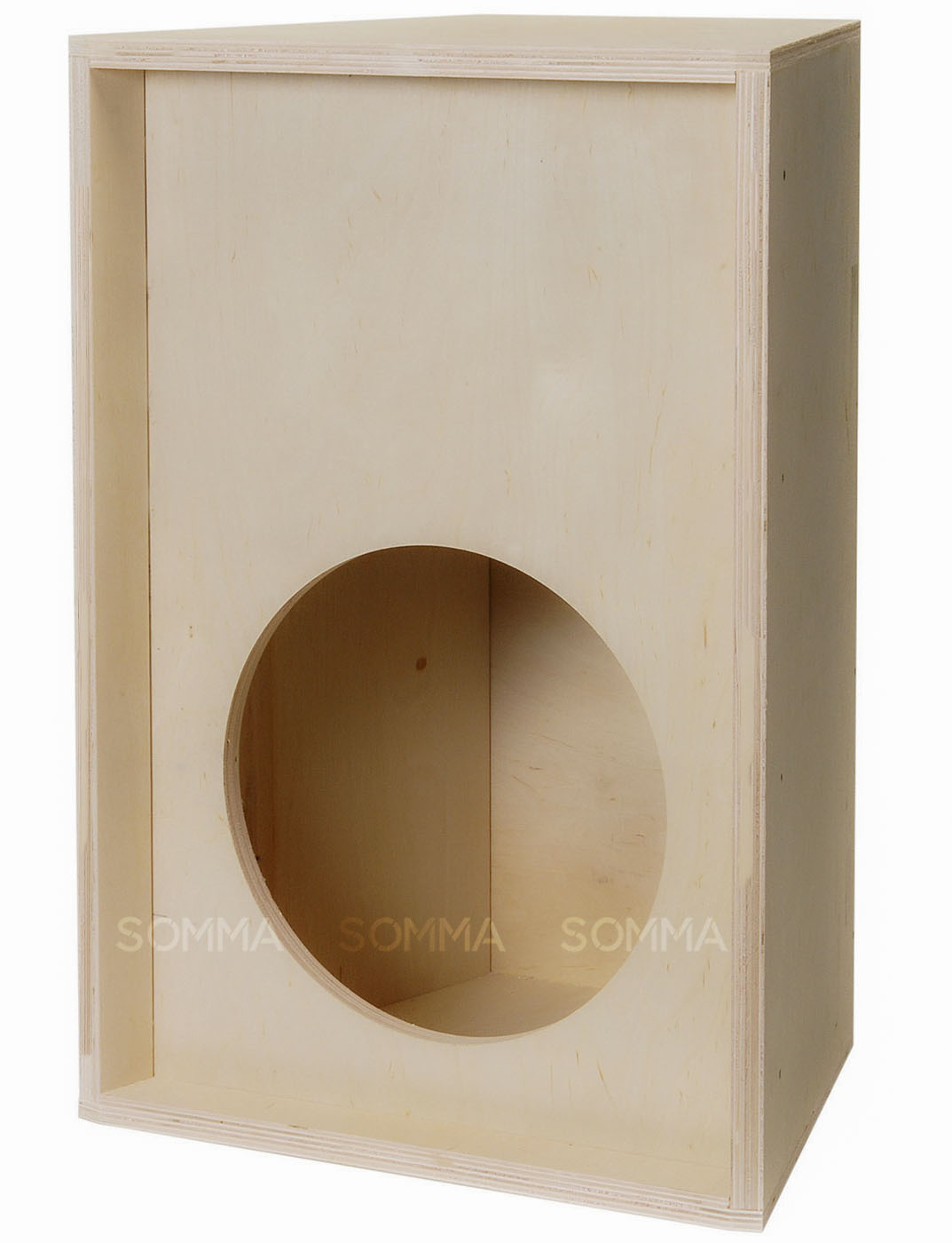 Plywood loudspeaker