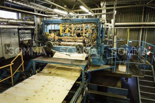 Dây chuyền sản xuất ván ép