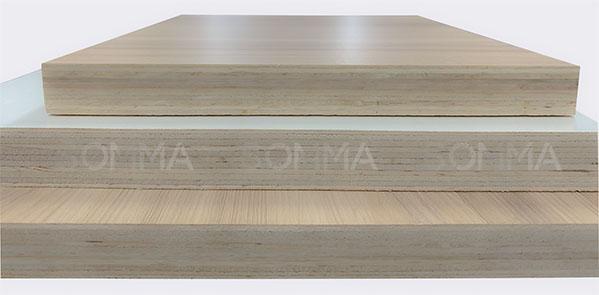 Ván plywood phủ melamine