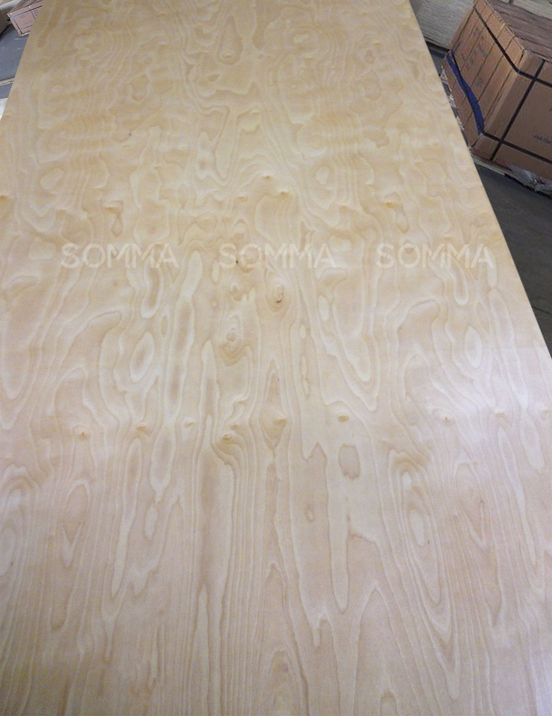 High quality plywood faced UV