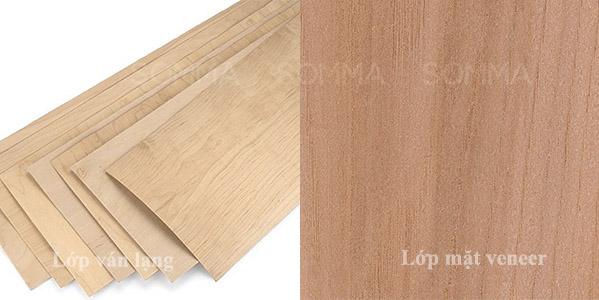 Ván plywood phủ veneer