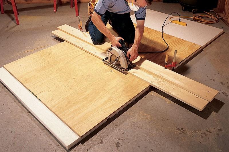 cắt ván gia công, cắt gỗ ván ép