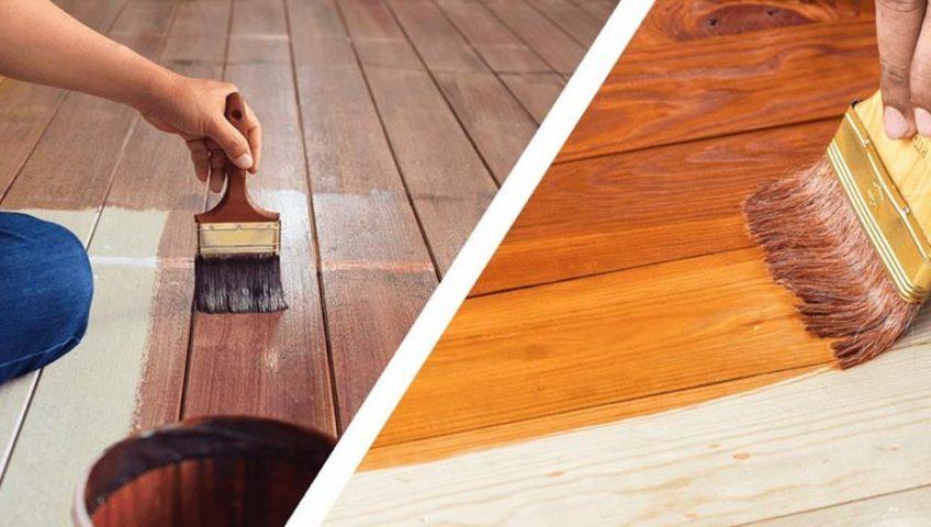 chống nước cho gỗ