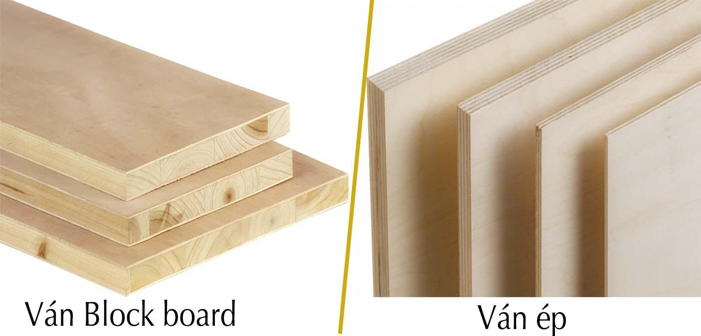 Ván block board