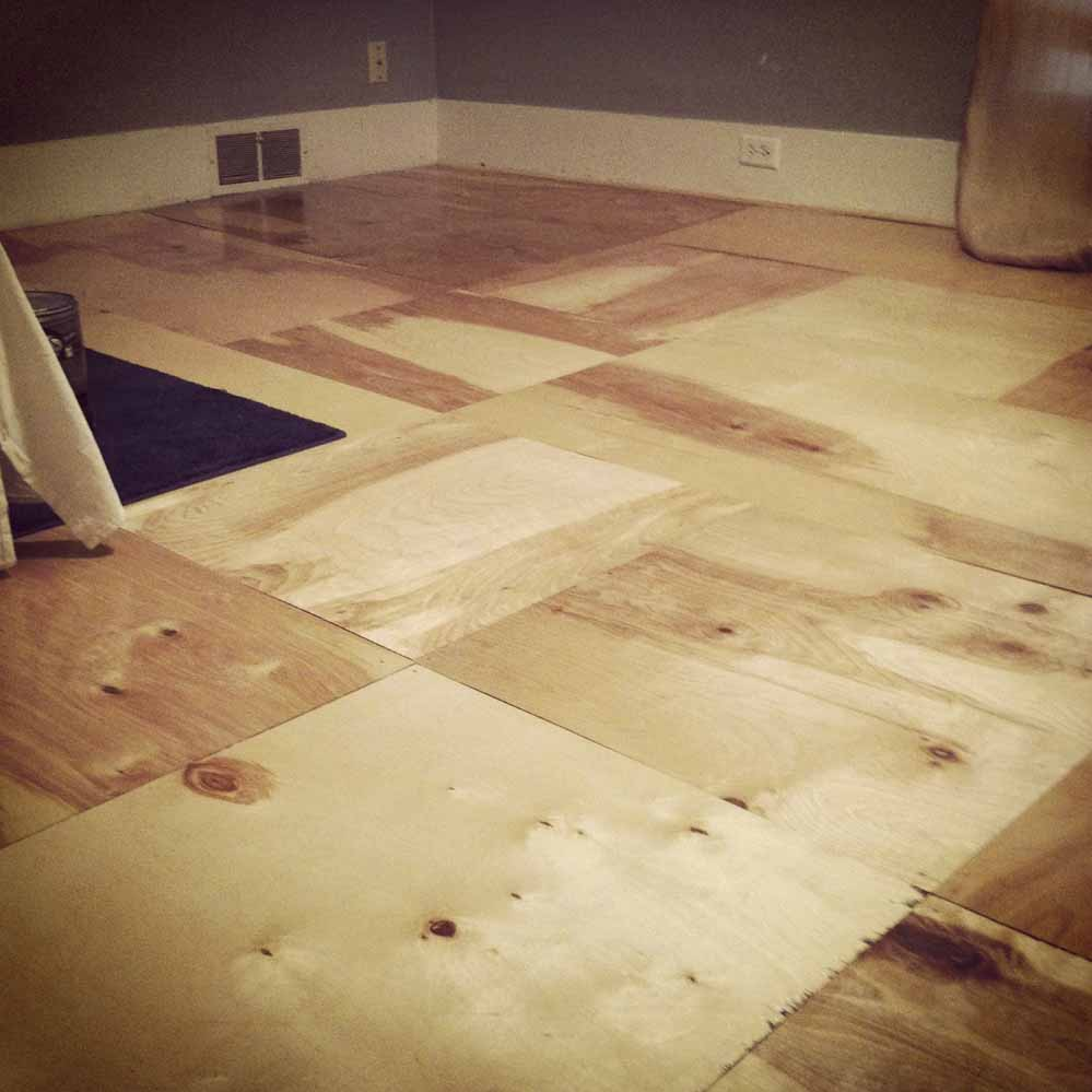 Plywood lót sàn giá rẻ